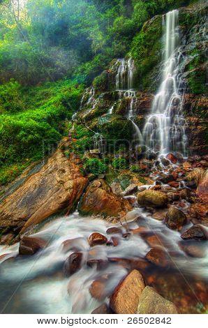Magnificient Kanchenjunga Falls