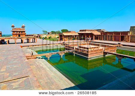 Old City Of Fatehpur Sikri, India.