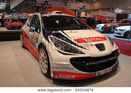 Essen - Nov 29: Peugeot 207 Super 2000