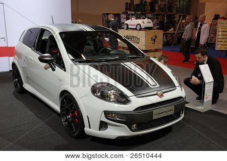 Essen - Nov 29: Fiat Punto Abarth
