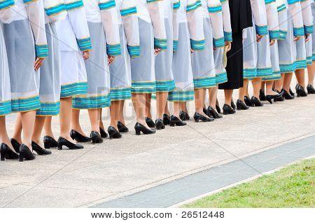 New Generation Of Thai Graduates