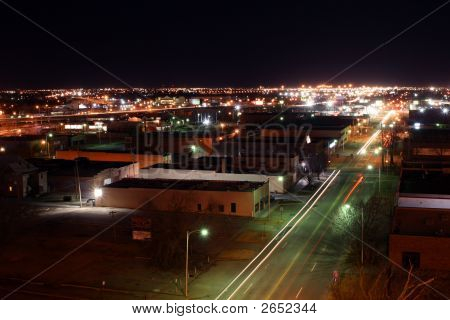 Downtown Oklahoma City Nightime