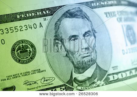 American five dollar banknote