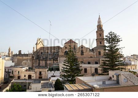 Domed Roman Catholic Monopoli Cathedral