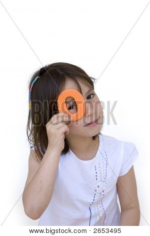 Young Girl Watching