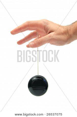 playing yo-yo