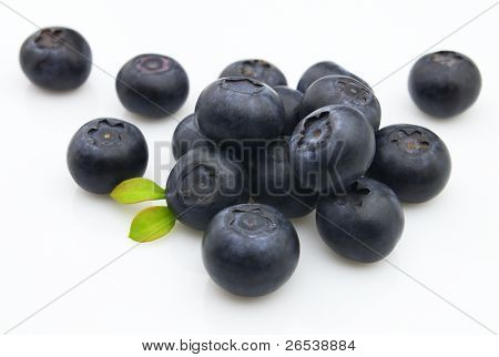 Fresh blueberry. Use it for a health and nutrition concept.