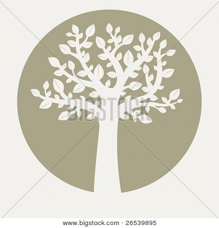 Eco Tree, Vector Illustration