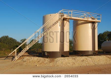 Twin Tan Storage Tanks