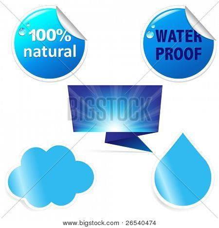 Water Sticker Set