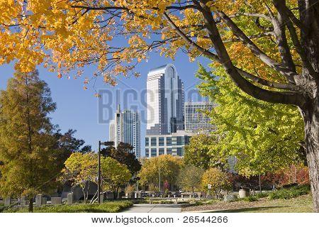 One Wachovia Center in Charlotte
