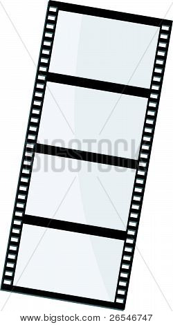 Vector Illustration Of Film Frame