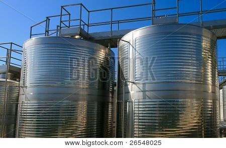 Aluminum Barrels For Vine