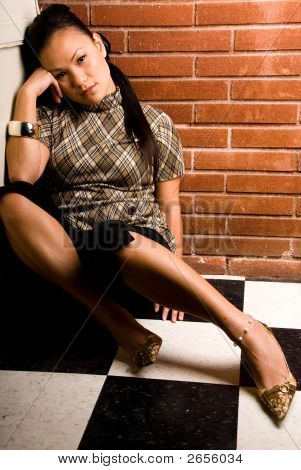 Pondering Pose - Fashion Series