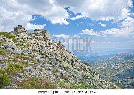 Rocky Mountains At Gredos Natural Park
