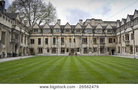 A college in Oxford University, United Kingdom