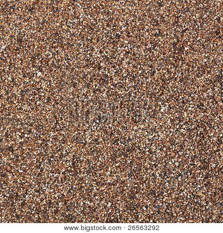 Textura de grava de piedra marrón