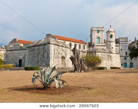 Historic castle known as La Fuerza in Old Havana, now used as a museum