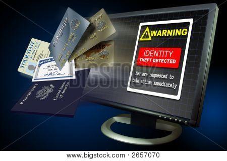 Identität Diebstahl Internet