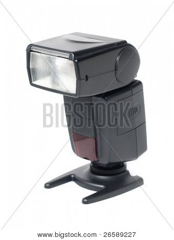 Isolated photo flash strobe