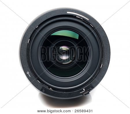 Isolated camera lens