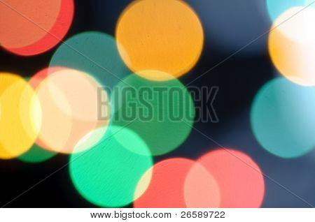Resumen Antecedentes defocused luz