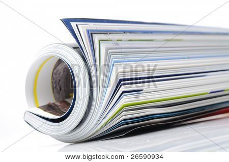 roll of magazine