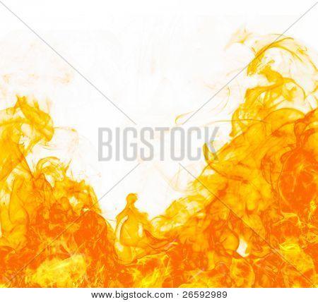 Brand flameon witte achtergrond
