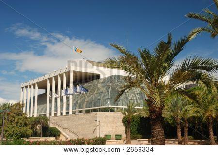 Palau De La Musica In Valencia, Spain