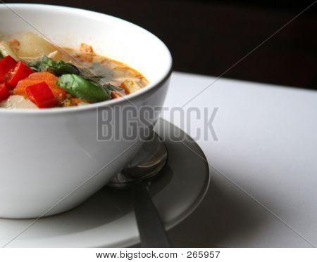 Comer a la mitad