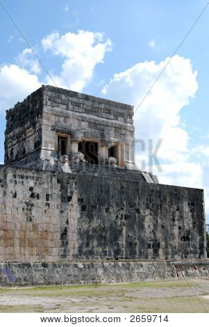 Stadium At Chitchen Itza