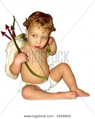 Shy Cupid No Background