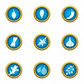 Avoid Icons Set. Flat Set Of 9 Avoid Vector Icons For Web Isolated On White Background poster