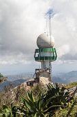 Meteorological Radar At La Gran Piedra Mountain, Cuba poster