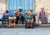 HAVANA-JANUARY 11:Street musicians January 11,2011 in Havana.With Cuba receiving over two million to