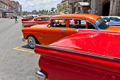 HAVANA-JUNE 4:Chevrolet and other classic cars June 4,2011 in Havana.Cubans keep thousands of old cl