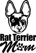 Animal Dog Rat Terrier B Rg6H Mom.eps poster