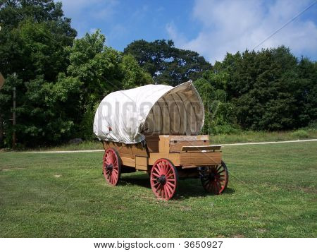Antique Western Wagon