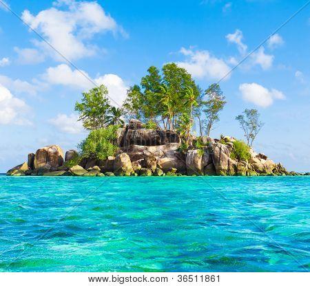 Sea Lagoon Scene