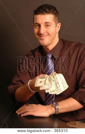 Man Offering Cash 2442