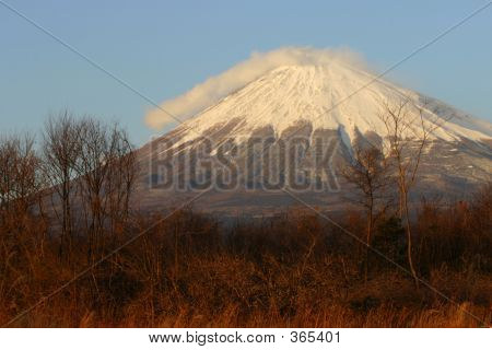 Mount Fuji In Fall Ii