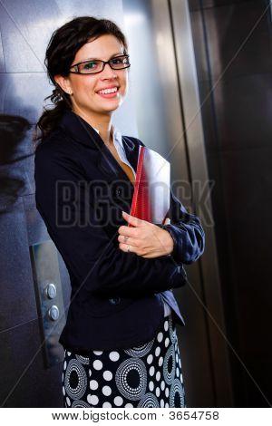 Smiling Happy Businesswoman