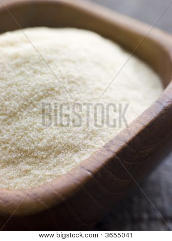 Dish Of Ground Semolina