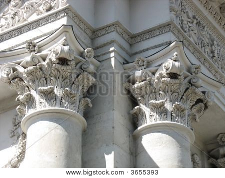 Ancient columns architectural design of engraving elements for Architectural design elements