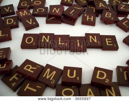 Online Letter Tiles