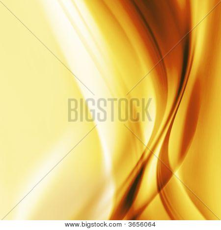 Efecto abstracto amarillo