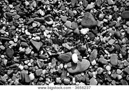 A Close Up Pebble Texture