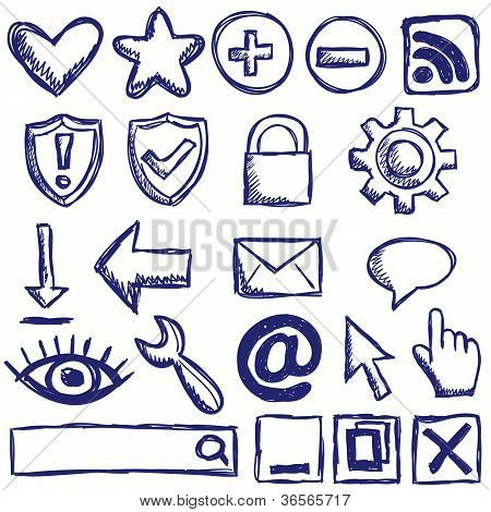 Set Of Nternet Web Icons