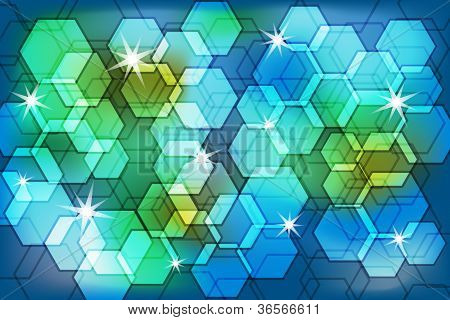 Abstract Background Bokeh Effect