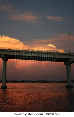 Clearwater Bridge Sunset